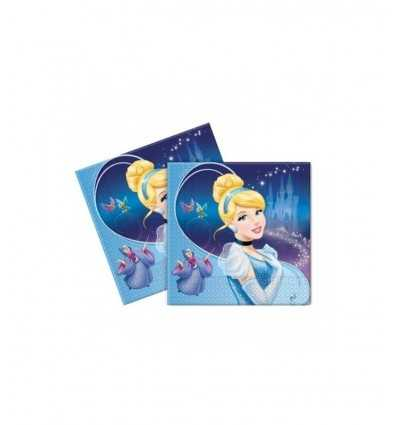 20 serviettes en papier partie Cendrillon CGM80999 33 x 33 cm CGM80999 Magic World Party- Futurartshop.com