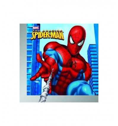 20 tovagioli cm 33x33 Spiderman 9917 9917 Magic World Party- Futurartshop.com