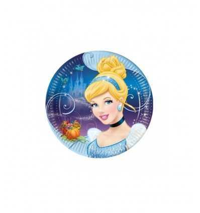8 piatti grandi 23 cm in cartoncino per feste CGM80996 CGM80996 Magic World Party-Futurartshop.com
