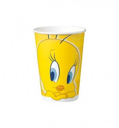 10 20 cl glasses Tweety 115839 115839 Magic World Party- Futurartshop.com