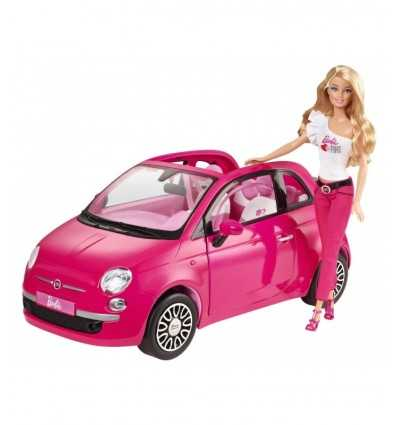 Mattel Y6857-Barbie neuen Fiat 500 Y6857 Mattel- Futurartshop.com