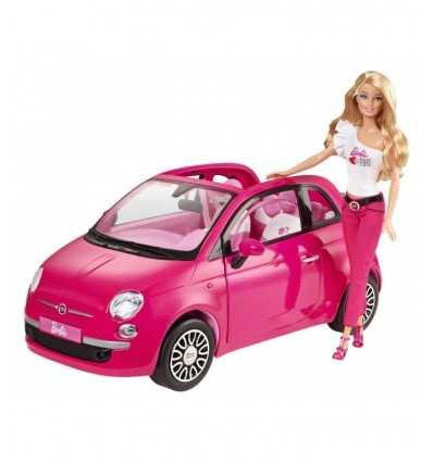 Y6857-Барби Mattel новый Fiat 500 Y6857 Mattel- Futurartshop.com