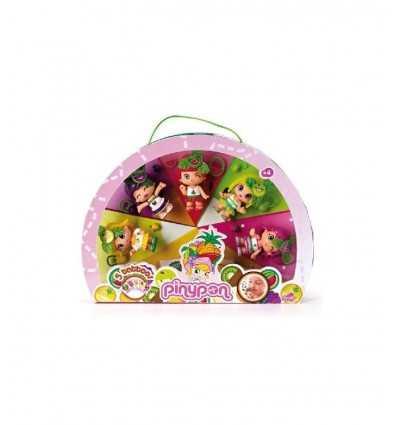 Pinypon 700008934 - Collezione Frutta 5 Personaggi 700008934 Famosa-Futurartshop.com