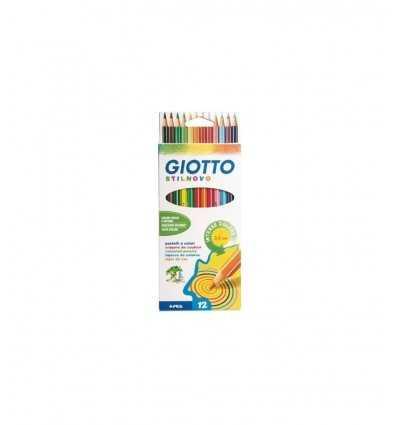Giotto Stilnovo Cf 12 Pastelli A Colori 256500 256500 Giotto- Futurartshop.com