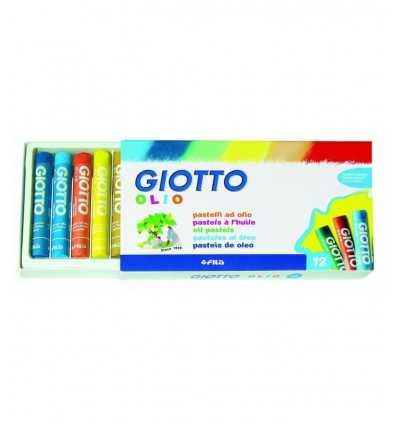 Giotto pastelli ad olio in astuccio da 12 colori 293000 293000 Giotto- Futurartshop.com