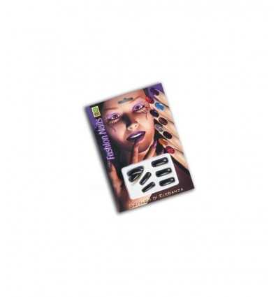 Unghie adesive nere in blister 07165 07165 Carnival Toys- Futurartshop.com