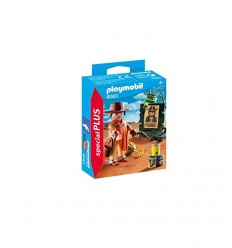 Playmobil luggage transport vehicle with track Marshalls 5396 Playmobil-futurartshop