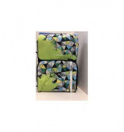 diadora backpack extendable green fancy 161051/EF1 Accademia- Futurartshop.com
