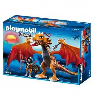 Playmobil 5483 - Drago Fiammeggiante 5483 Playmobil-Futurartshop.com