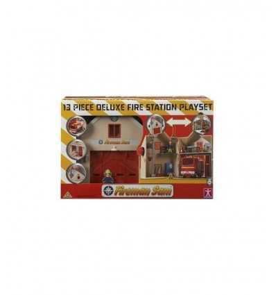 Giochi Preziosi NCR18288 Caserma dei Pompieri Deluze Sam Il Pompiere ncr18228 Linea Paggio- Futurartshop.com