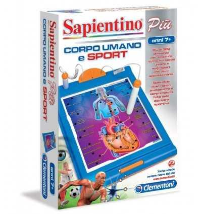 Clementoni 13874-Sapientino menschlicher Körper und Sport 13874 Clementoni- Futurartshop.com