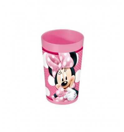 Bicchiere 24 cl Minnie in plastica per bambini CMG123182 Giochi Preziosi-Futurartshop.com