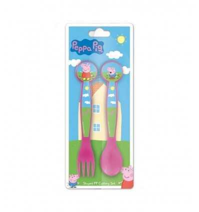 Melamina cubertería de Peppa Pig 85217 85217 Stamp- Futurartshop.com