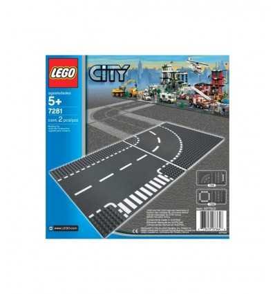 Cruce con la curva 7281LEGO Lego- Futurartshop.com