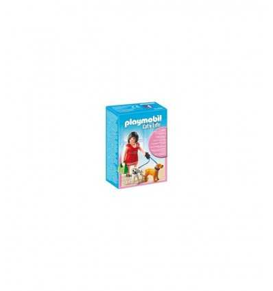 Playmobil 5490 Lady avec chiens 5490 Playmobil- Futurartshop.com
