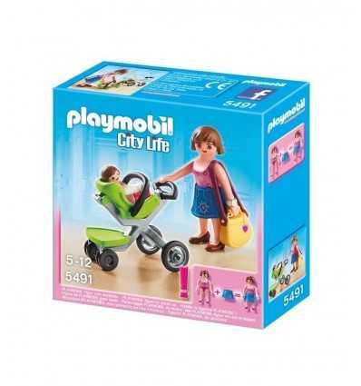 Playmobil 5491 mamma con passeggino 5491 Playmobil- Futurartshop.com