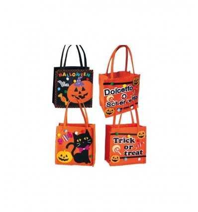 Halloween 4 mod.ass sac. 16 x 16 cm 08104 08104 Carnival Toys- Futurartshop.com