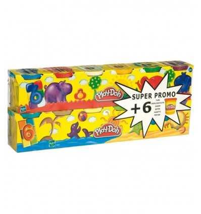 Playdoh-modelling Dough 6 + 6 Jars Promo 230231860 230231860 Hasbro- Futurartshop.com