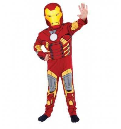 Costume Iron Man con muscoli 3-4 anni CMGR881325.. Como Giochi -Futurartshop.com
