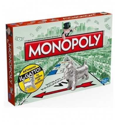 Hasbro 000094560-Monopol rechteckig, in Italienisch 000094560 Hasbro- Futurartshop.com