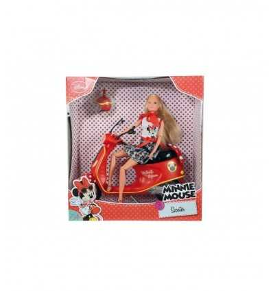 Simba 105748641 - Steffi Love Minnie Mouse con Scooter 105748641 Simba Toys- Futurartshop.com
