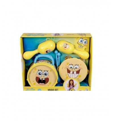 Simba 109498551-Sponge Bob Set Musikinstrumente 109498551 Simba Toys- Futurartshop.com