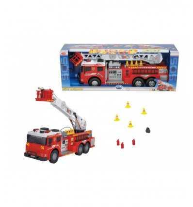 Simba-Dickie 203445417009 Sos innebär brandmän lampor låter och sprutar vatten 203445417009 Simba Toys- Futurartshop.com