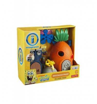 Mattel X7685 - SpongeBob Imaginext L'Ananas di Spongebob X7685 Mattel- Futurartshop.com