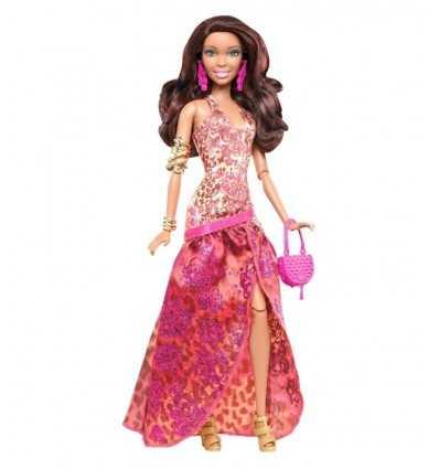 Mattel Y7495 Y7498-Barbie Fashionista i aftonklänning, Mora Y7498 Mattel- Futurartshop.com