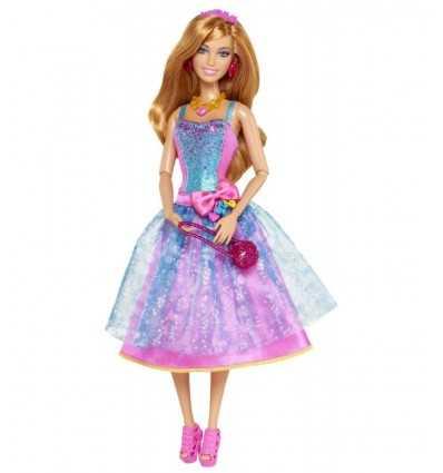 Mattel Y7495 Y7632-Barbie Fashionista en robe de soirée, rouge Y7632 Mattel- Futurartshop.com