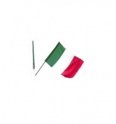 Bandiera Italia con asta 90x150 47284 47284 Mazzeo-Futurartshop.com
