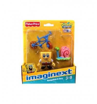 FISHER PRICE W9586 X7663 Imaginext Sponge Bob Gary/Bob X7663 Mattel-Futurartshop.com