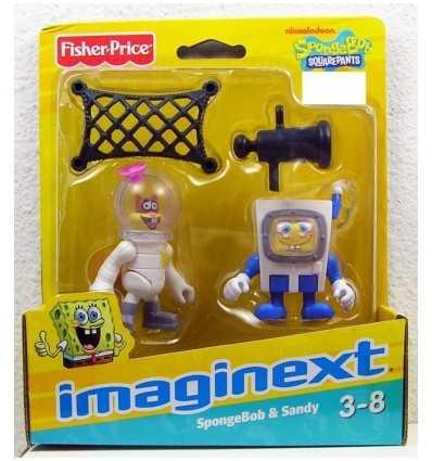 FISHER PRICE W9586 X4077 Imaginext Sponge Bob Bob/Sandy X4077 Mattel- Futurartshop.com