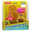 FISHER PRICE W9586 X7471 Imaginext Sponge Bob Bob/Patrick X7471 Mattel- Futurartshop.com