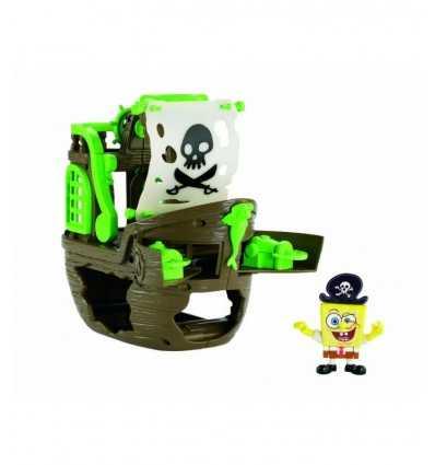 Mattel W9587 - SpongeBob Imaginext La Nave da Pirata Spongebob W9587 Mattel-Futurartshop.com