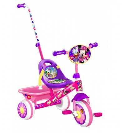 Dreirad Minnie und Daisy Bowtique 8.5 mit Stock und Korb-J899023 J899023 Stamp- Futurartshop.com