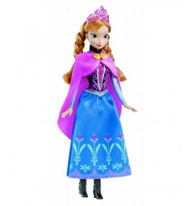 Mattel Y9958 - Disney Princess Anna Principessa Scintillante Y9958 Mattel- Futurartshop.com
