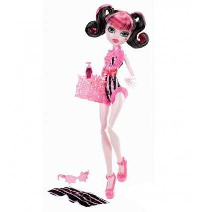Mattel Y7302 Y7303 Monster High Swimsuit Draculaura Bambola Y7303 Mattel- Futurartshop.com