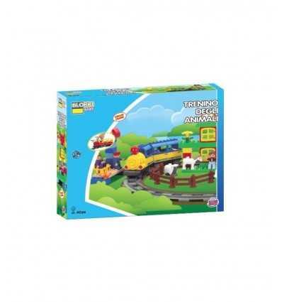 Baby-Blöcken trainieren mit Track GG81005 GG81005 Grandi giochi- Futurartshop.com