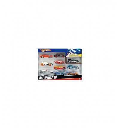HW 10 véhicules de confection 54886 Mattel- Futurartshop.com