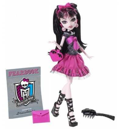Mattel X4614 Y8497 Monster High Draculaura bambola annuario Y8497 Mattel-Futurartshop.com