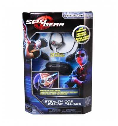 Com 6,021,517-Stealth Spy Gear Walkie Talkies 6021517 Spin master- Futurartshop.com