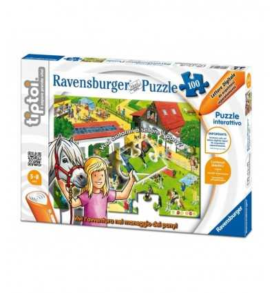 Ravensburger Tiptoi 00577 - Puzzle Il Maneggio dei Pony 00577 Ravensburger- Futurartshop.com