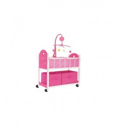 Драгоценные любовь Детская кровать игры с деревянными ящиками RDF50542 RDF50542 Giochi Preziosi- Futurartshop.com