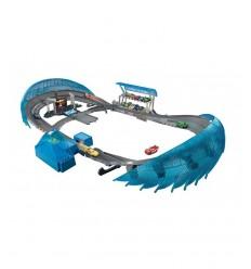 Scooter de tres ruedas, rojo y azul