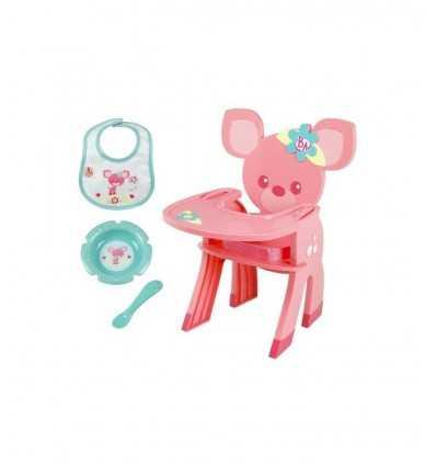 Chaise haute avec accessoires Baby Alive 190421481 Hasbro- Futurartshop.com
