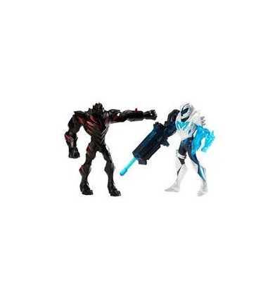 Mattel BCW04 Y1407 - Max Steel Ms Battle Packclaw Dredd vs Blaster Max Y1407 Mattel- Futurartshop.com