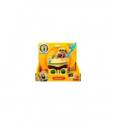 SpongeBob Patty Wagon X4079 X7612 X7612 Mattel-Futurartshop.com