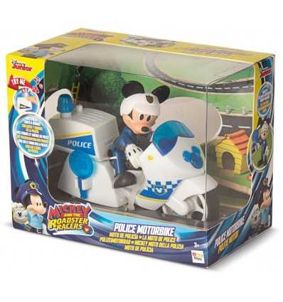 Character mickey mouse with police bike 182349MM2 IMC Toys- Futurartshop.com
