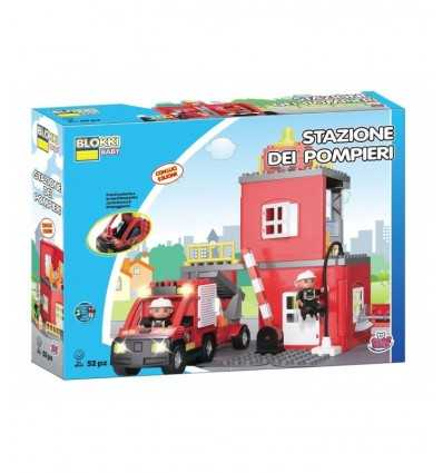 Blokki fire station baby car GG81004 Grandi giochi- Futurartshop.com